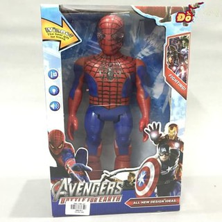(Giá huỷ diệt) Người nhện dùng pin phát nhạc có đèn siêu bền (kèm pin)