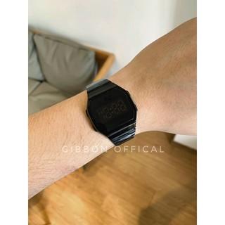 Đồng hồ nam, nữ màn hình cảm ứng Led Tráng gương dây thép không rỉ 4 màu thời trang