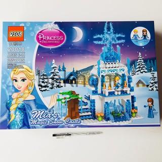 Lego Xếp Hình Lâu Đài Công Chúa Elsa. Lego Lâu Đài Công Chúa Băng Giá Siêu Đẹp cho bé gái bakhong