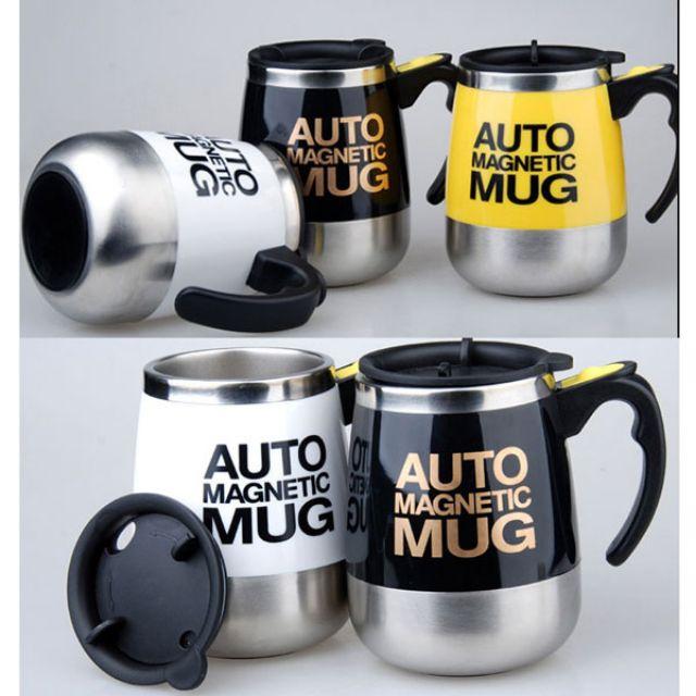 Cốc tự khuấy thông minh, cốc tự pha cafe Self Stirring Mug