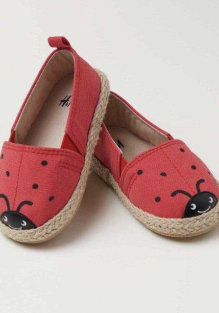 Bán sỉ giày búp bê xuất con bọ đỏ cho bé gái