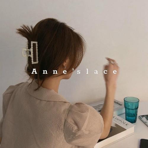 Phụ kiện kẹp tóc càng cua đính hạt ngọc nhiều mẫu thời trang Hàn Quốc