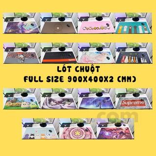 [FREESHIP – Clip thật] Miếng Lót Chuột Full size, Lót chuột, Pad chuột, Bàn di, Văn Phòng , Gaming(Size 900x400x2)
