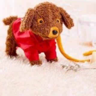 TẶNG BÚT EMOJI – Chó bông biết đi biết hát quà cho bé siêu cute