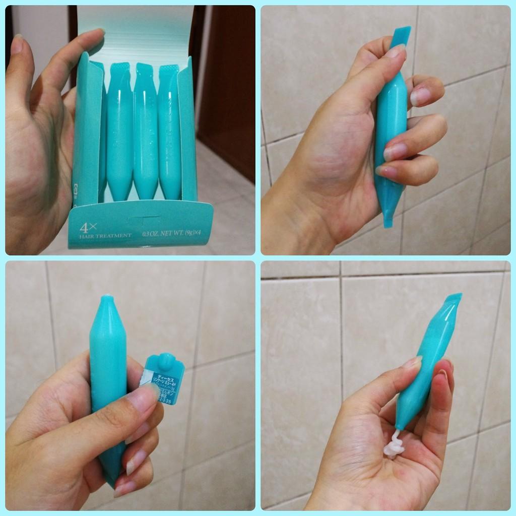1 Ống kem dưỡng tóc Collagen milbon chính hãng dùng thử