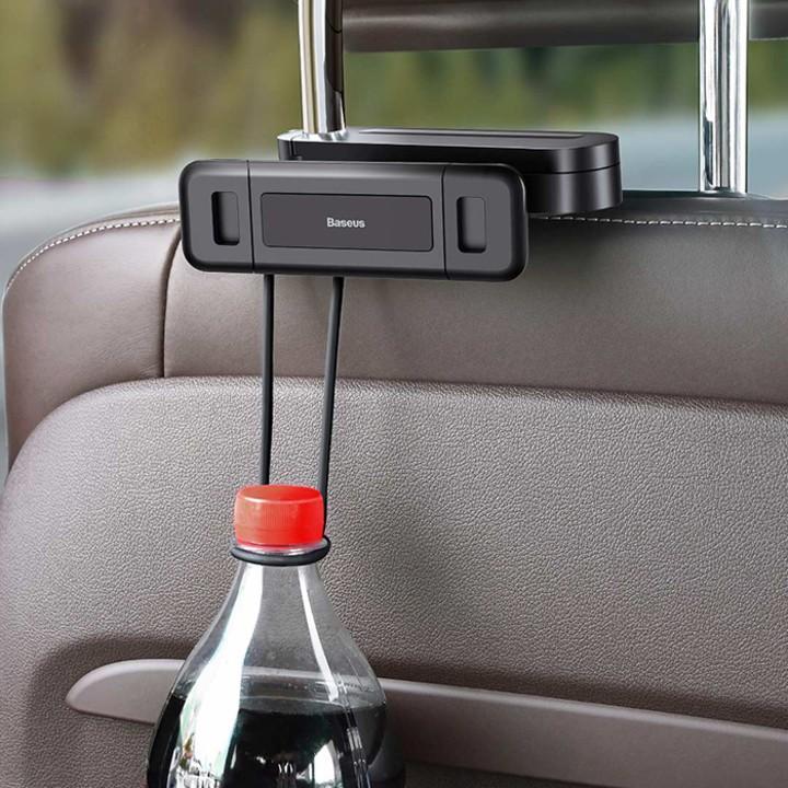 Giá đỡ điện thoại, ipad, máy tính bảng cài sau ghế ô tô. Thương hiệu cao cấp Baseus SULR-A01