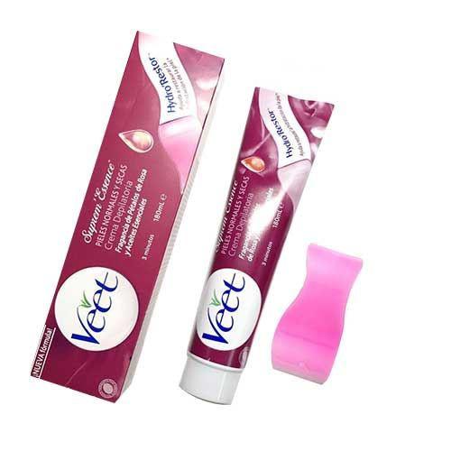 Kem tẩy lông cho da nhạy cảm Veet Suprem Essence 180ml