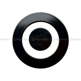Combo Phụ kiện nắp che đen chia lửa bếp gas âm Giovani G201SBT / G202SB / G302SB.. chính hãng (48mm,64mm,103mm,131mm)