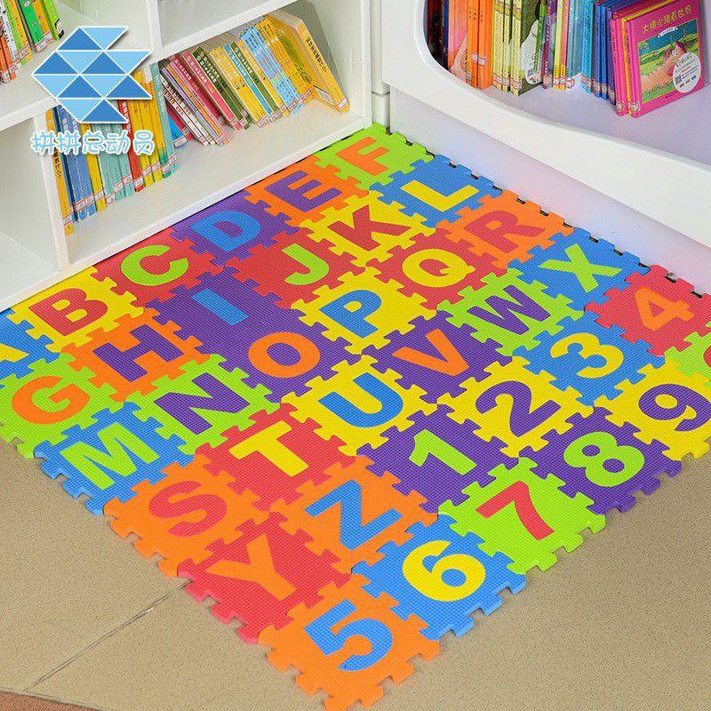 Thảm xốp ghép chữ số cho bé 30x30cm - xốp lót sàn hàng VNXK