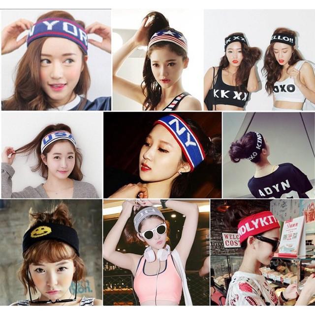 Headband BTS V băng đô BTS V băng đô Luhan TFboys băng đô thể thao bờm tóc thể thao