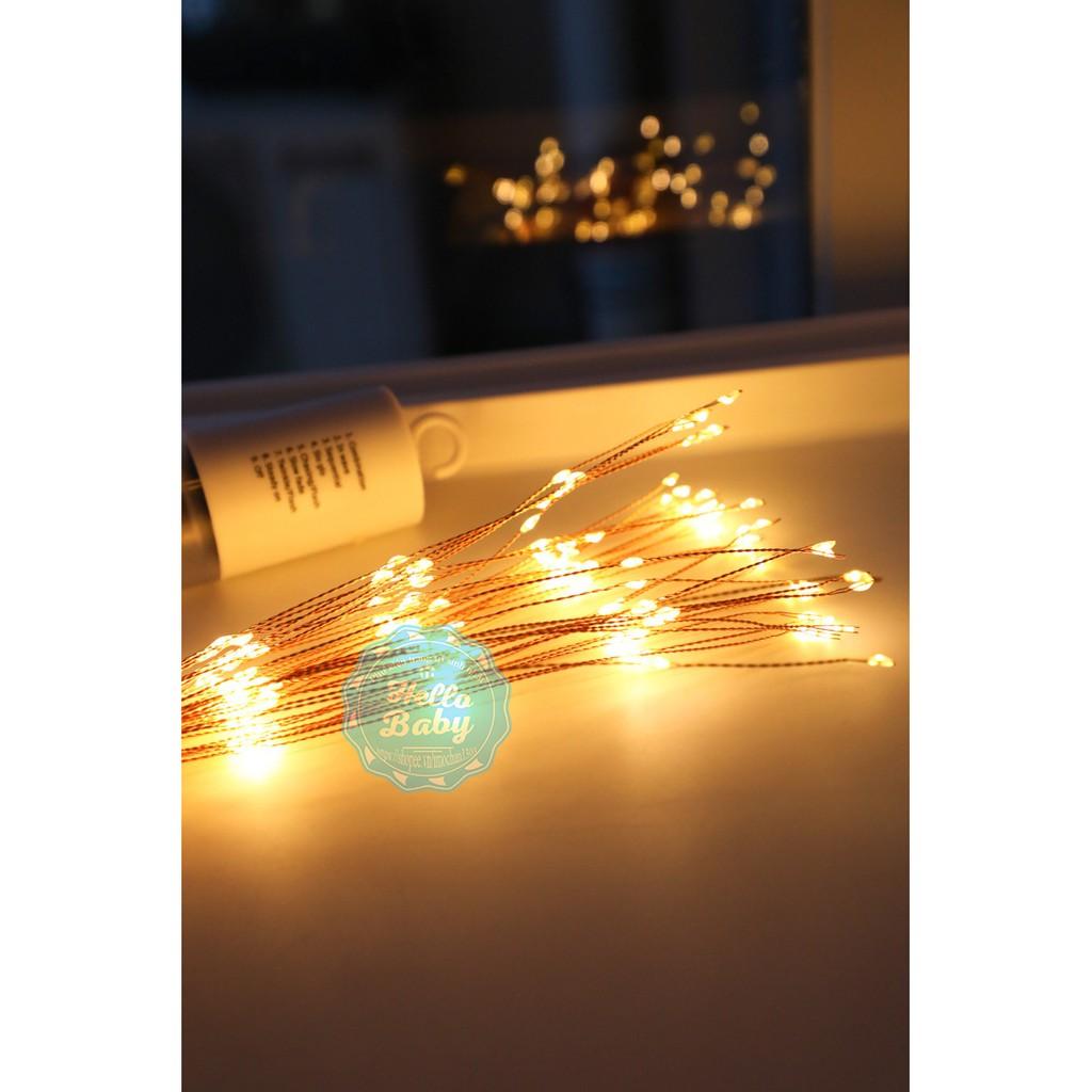 Bộ dây 5 chùm đèn led phao hoa trang trí