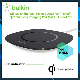 Đế sạc không dây Belkin BOOST UPTM chuẩn QiTM Wireless Charging Pad (5W) - F8M747bt thumbnail