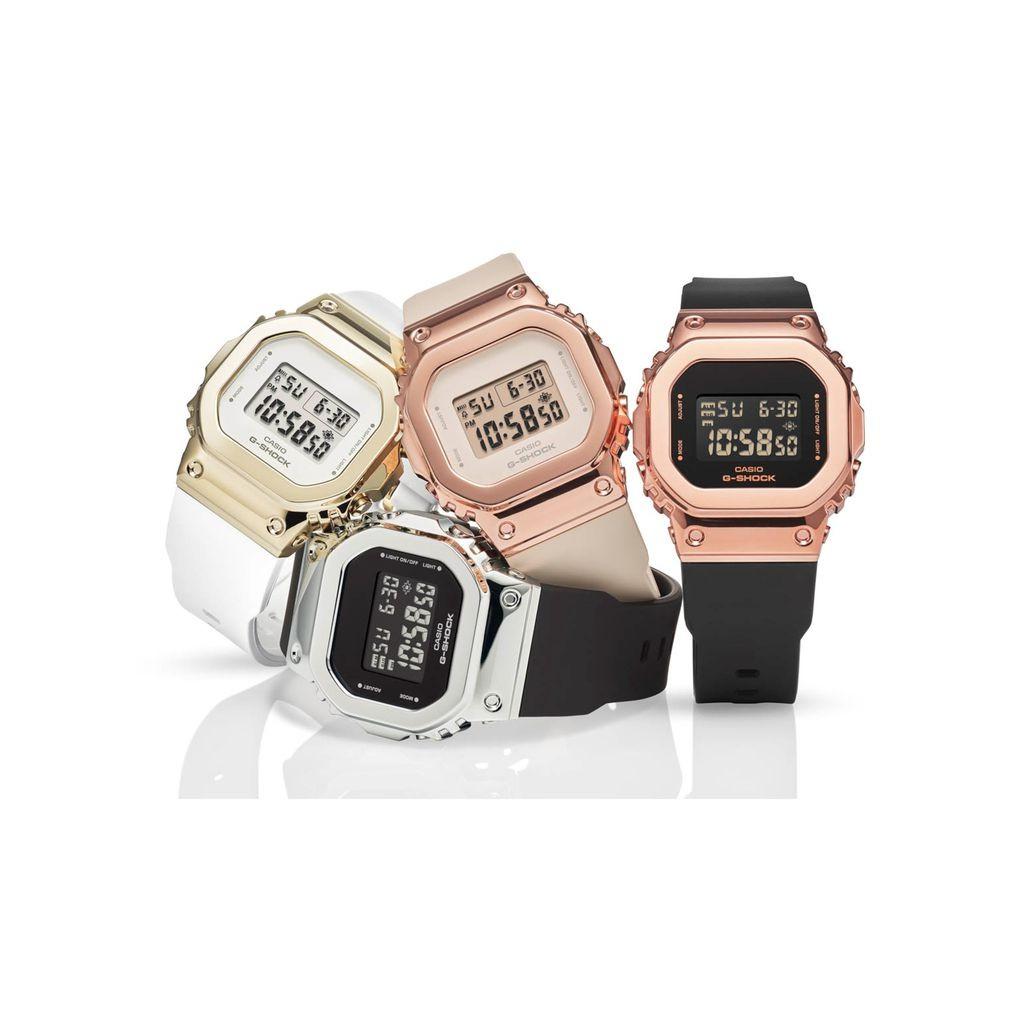 [Mã FARSBR243 giảm 15% đơn 249K] Đồng hồ Casio nữ G-shock GM-S5600G-7DR