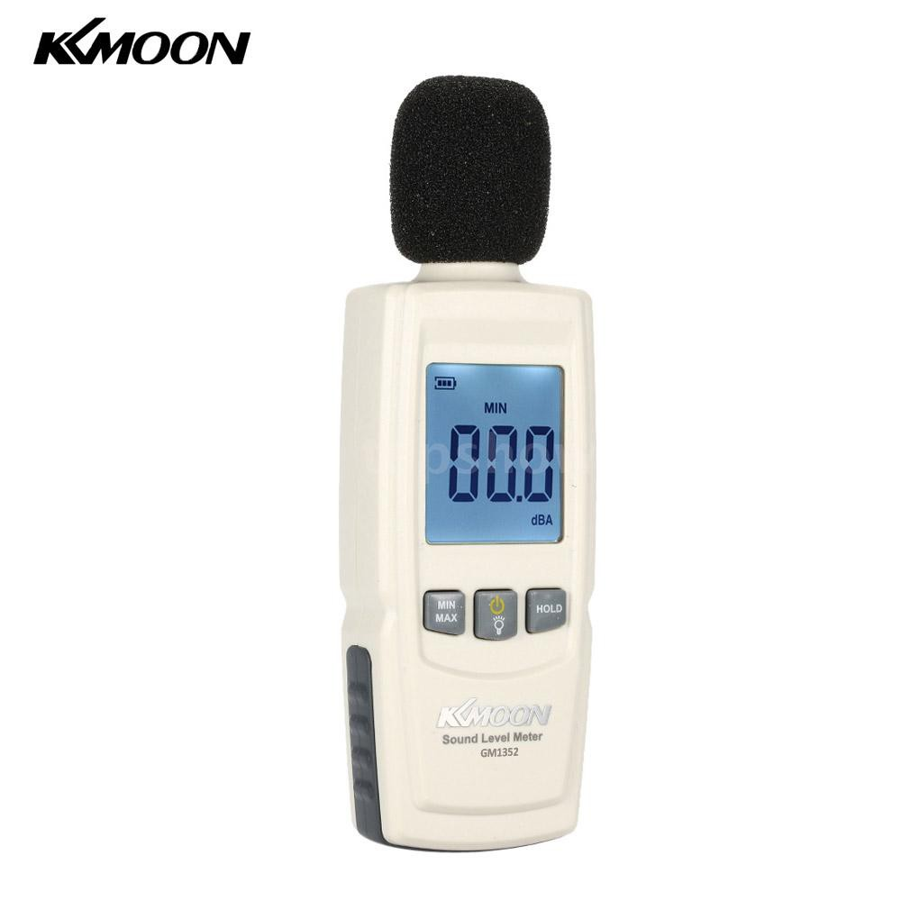 topshow KKmoon LCD Digital Sound Level Meter Noise Volume Measuring Instrument D