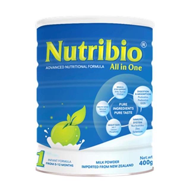 Sữa Nutribio All in one số 1 loại 400g (cho bé 0-12 tháng) - 2444311 , 420522846 , 322_420522846 , 240000 , Sua-Nutribio-All-in-one-so-1-loai-400g-cho-be-0-12-thang-322_420522846 , shopee.vn , Sữa Nutribio All in one số 1 loại 400g (cho bé 0-12 tháng)