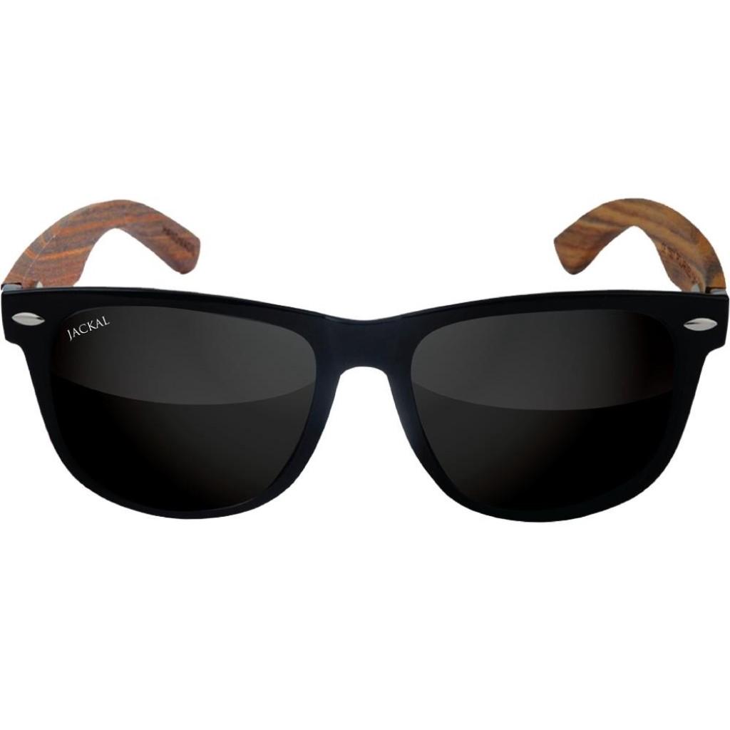 Travel Sunglasses JACKAL แว่นตากันแดดขาไม้ Jackal Semi-Wooden Sunglasses Traveller TL008Pravel Sunglasses JACKAL แว่นตาก
