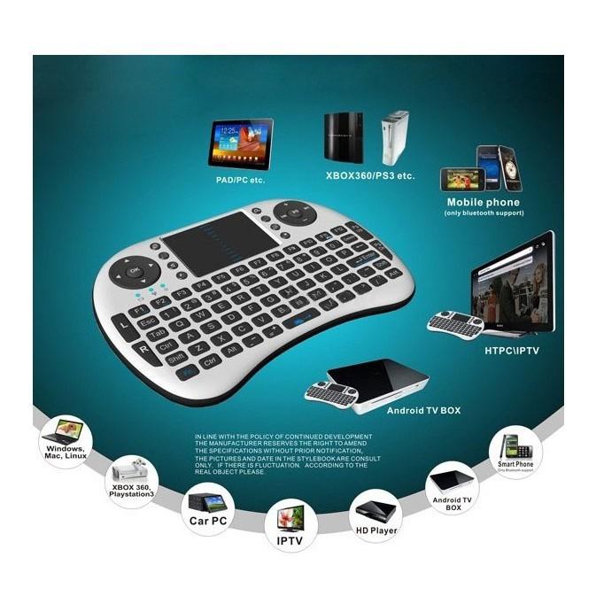 Chuột Bay Kiêm Bàn Phím Không Dây UKB500 Cho Smart Tivi & Android Box rảnh tay
