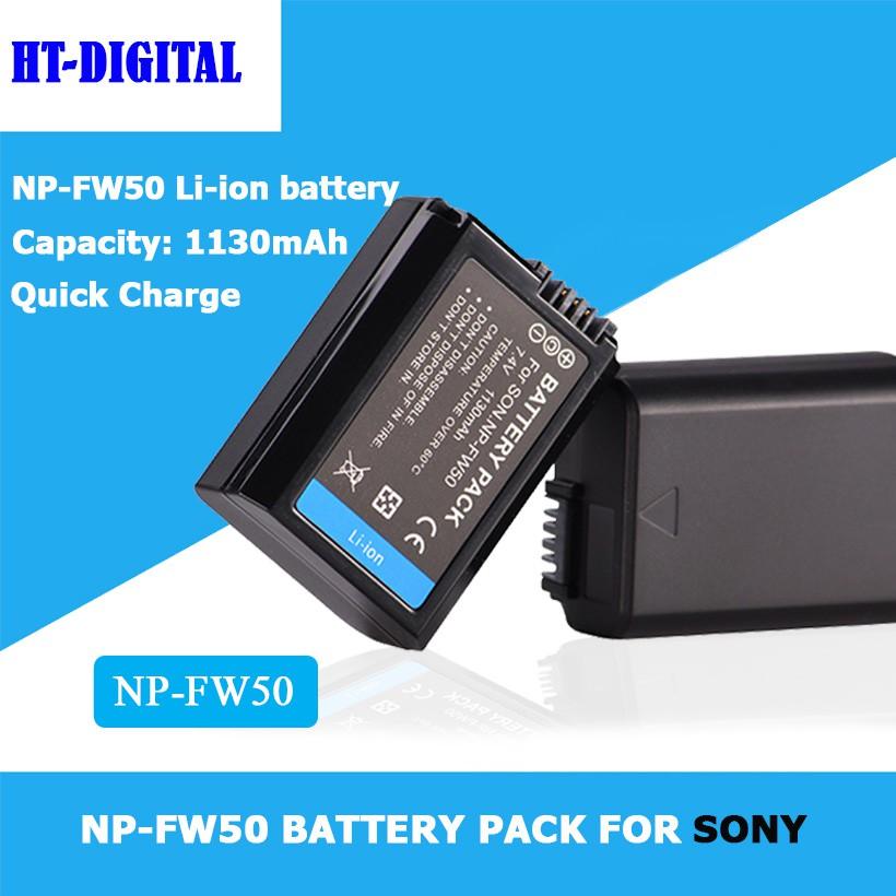 Pin NP-FW50 cho Sony A6300 A6000 A6500 A5100 A5000 Alpha 7 7R A33  A55 Nex