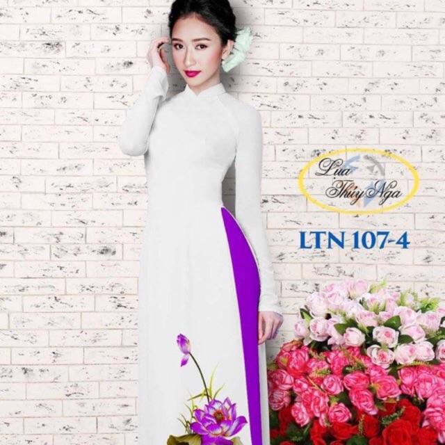 Vải áo dài Hoa sen - 10004855 , 672105210 , 322_672105210 , 240000 , Vai-ao-dai-Hoa-sen-322_672105210 , shopee.vn , Vải áo dài Hoa sen