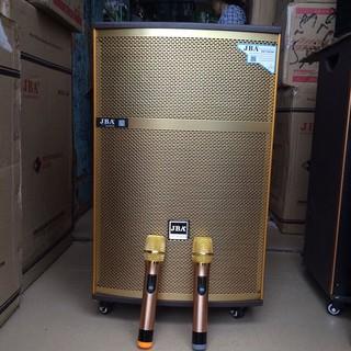loa kéo JBA -09 tặng 2 micro không dây