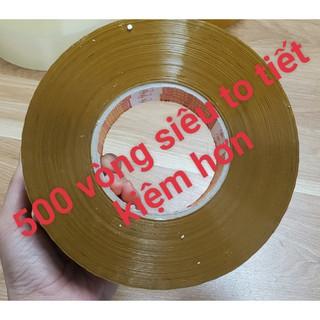 [RẼ NHẤT SHOPEE] Băng keo Vàng đóng gói hàng lớn to khổng lồ[1 CUỘN 0,9KG LÕI GIẤY SIÊU NHẸ ] thumbnail
