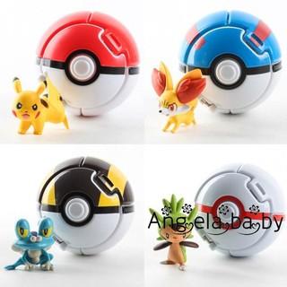 Đồ Chơi Quả Bóng Pokemon Tự Động Thú Vị
