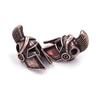 [Bead – Paracord bracelet] Bead Spartacus – Phụ kiện chiến binh cực ngầu (Màu đồng đỏ)