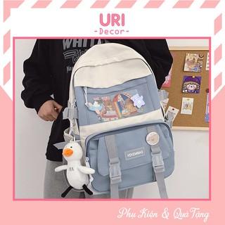 Balo thời trang balo đi học du lịch nam nữ ulzzang chống nước Changiue BL02 URI DECOR