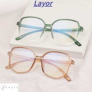 💜LAYOR💜 Fashion Blue Light Blocking Glasses Vision Care Eyeglasses Computer Goggles Flexible Ultralight Unisex Radiation Protection Eyewear