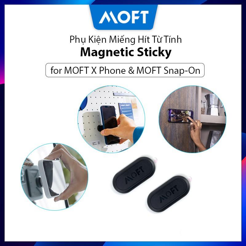 【MOFT Chính Hãng】Miếng Hít Nam Châm Điện Thoại MOFT X Magnetic Sticky, Miếng Dán Từ Tính Cho Giá Đỡ Điện Thoại