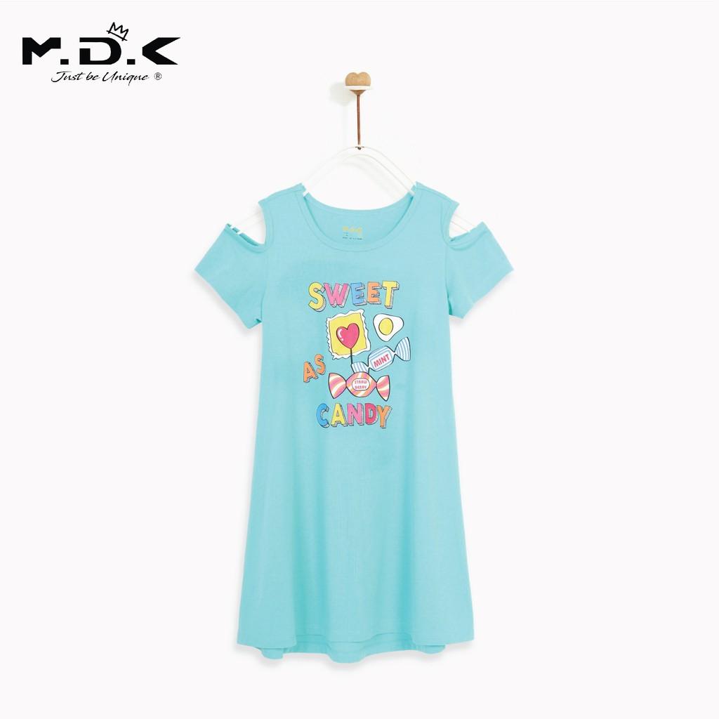 Áo đầm bé gái-Candy Off-Shoulder M.D.K