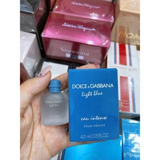 [MINI] Nước Hoa Nam FREESHIP Nước Hoa Dolce & Gabbana Light Blue Eau Intense Pour Homme 4,5ml thumbnail