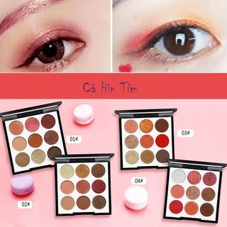 Bảng Phấn Mắt 9 Ô Màu NOVO Smooth Eyeshadow Palette thumbnail