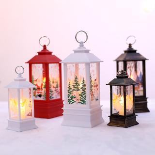 Đèn LED hình ngọn nến độc đáo xinh xắn cho Giáng sinh