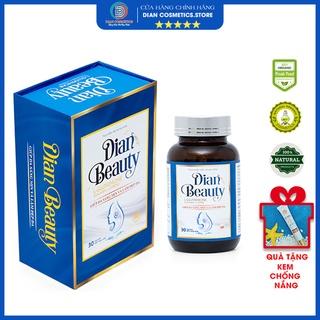 Viên uống trắng da DIAN BEAUTY Glutathione combo 3 hộp , mờ nám tàn nhang, chống nắng, bổ sung collagen, vitamin c thumbnail