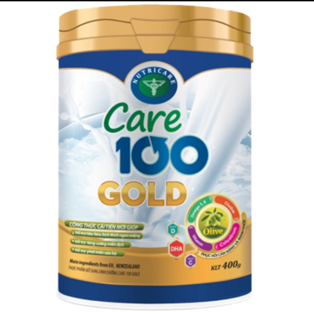 Sữa bột Care 100 Gold 900g