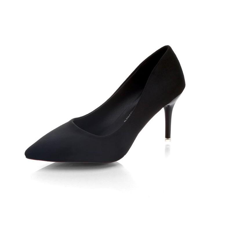 Giày cao gót nữ với giày công sở chuyên nghiệp màu đen giày cao gót da lộn gợi cảm 3-5-7-10cm - 21837393 , 2892447689 , 322_2892447689 , 292143 , Giay-cao-got-nu-voi-giay-cong-so-chuyen-nghiep-mau-den-giay-cao-got-da-lon-goi-cam-3-5-7-10cm-322_2892447689 , shopee.vn , Giày cao gót nữ với giày công sở chuyên nghiệp màu đen giày cao gót da lộn gợ