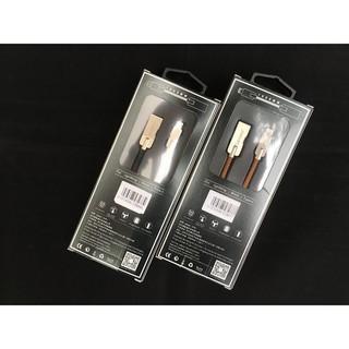 Cáp sạc iPhone, iPad, iPod & Android, Lecun X31 chính hãng, dây dù siêu bền