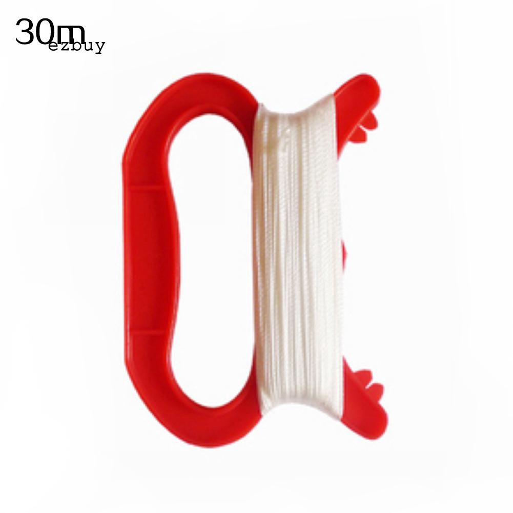 【EY】30/50/100m D Shape Kite Line String Winder Handle Outdoor Board Children Kite