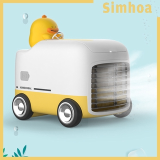 [SIMHOA]Portable Air Conditioner Cooling with Atmosphere Light for Room Indoor
