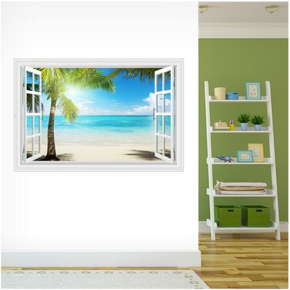 Decal trang trsi khung cửa sổ 3D cảnh biển xanh và 1 Cây Dừa lớn - 21582778 , 1350434330 , 322_1350434330 , 75000 , Decal-trang-trsi-khung-cua-so-3D-canh-bien-xanh-va-1-Cay-Dua-lon-322_1350434330 , shopee.vn , Decal trang trsi khung cửa sổ 3D cảnh biển xanh và 1 Cây Dừa lớn
