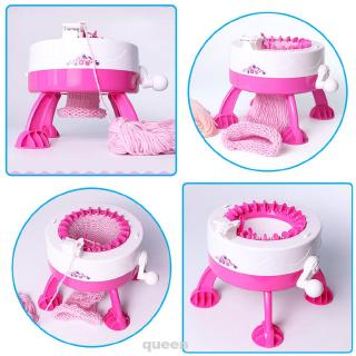 Girls With Yarn Balls Tools Sewing Weaving Smart Toy Knitting Loom Machine