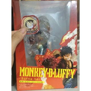 Mô hình Figuarts Zero One Piece Monkey D Luffy Battle Ver (tặng card luffy)