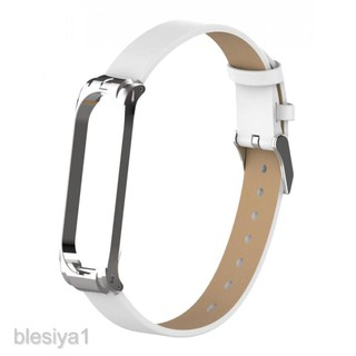 Ultrathin Leather Band Strap Replacement Part for Xiaomi Mi Band 4 thumbnail