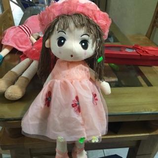 Búp Bê bông hoa ren Hàn Quốc cao cấp 45cm giá tại xưởng