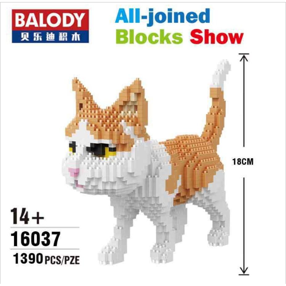 Bộ xếp hình mèo Vàng với 1390 mảnh ghép