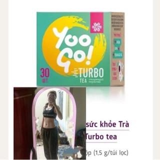Trà thải mỡ thừa giảm cân[Mẫu Mới của trà T]thải mỡ x2 mẫu cũ Trà thảo mộc YooGo TurboTea siberian