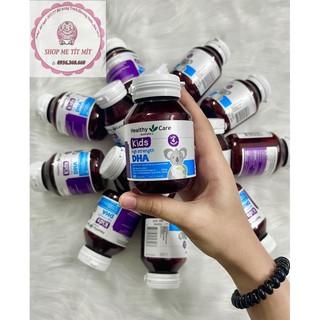 HOT) DHA Healthy Care 60 Viên Cho Bé, DHA Hương Chanh Cho Bé Từ 4 Tháng + Hàng sẵn