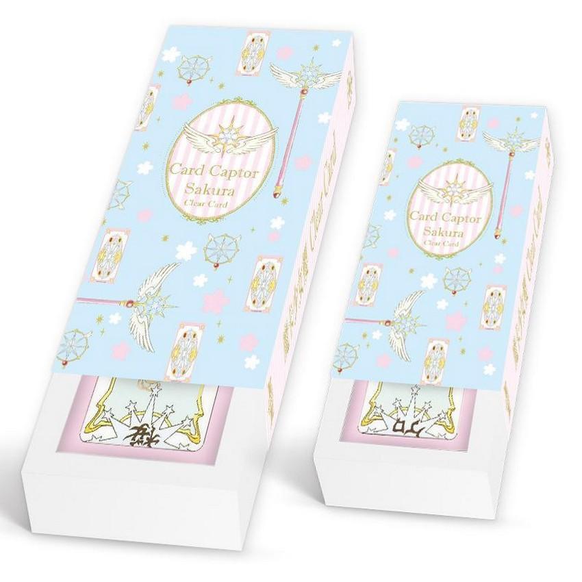 (2 loại ) Bộ bài Tarot màu xanh Clow card/Cardcaptor Sakura /KINOMOTO SAKURA thủ lĩnh thẻ bài pha lê dễ thương