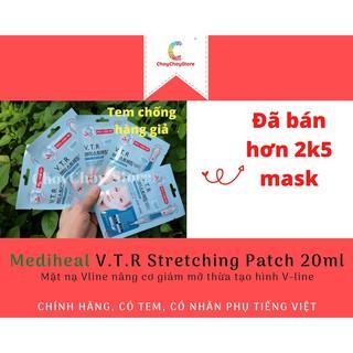 [TEM CHỐNG HÀNG GIẢ] Mediheal V.T.R Stretching Patch 20mL - Mặt nạ Vline nâng cơ giảm mỡ thừa tạo hình V-line thumbnail